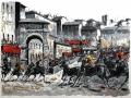 """Code BER01 cm 80x100 """" Il Palio di Siena"""""""