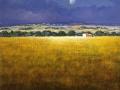 "Code N07 cm 40x50 "" Panorama in Toscana"""