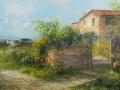 "Code VA03 cm 40x80 ""Campagna Toscana"""